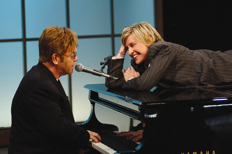 Ellen Degeneres and Elton John - The Ellen Show