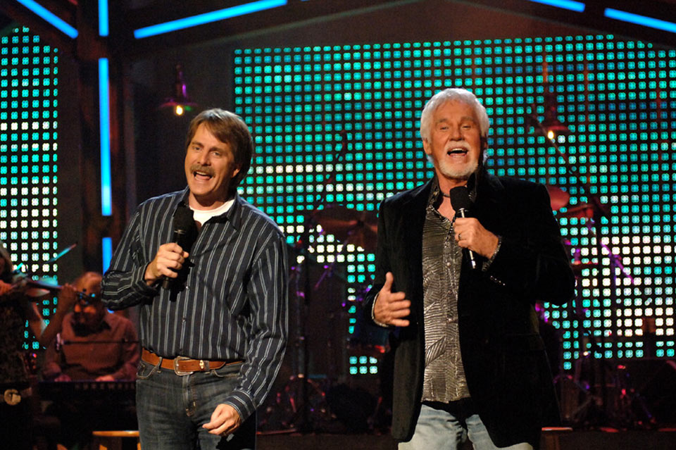 Kenny Rogers and Jeff Foxworthy, CMT 2006